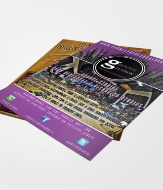 Groove Studio Flyer - Designed by Perfecto Print UK