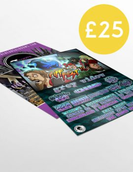 1000 A6 Flyers double sided full colour free delivery