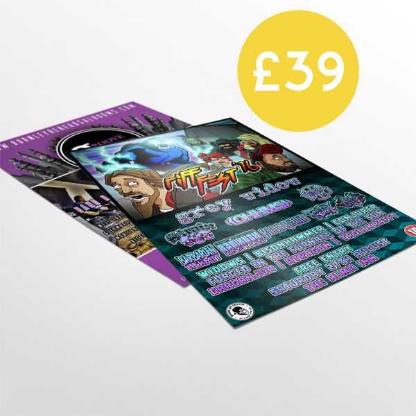1000 A5 Flyers double sided full colour free delivery