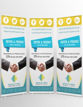 roll up banner printing online