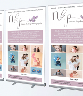 roll up banner printing photography