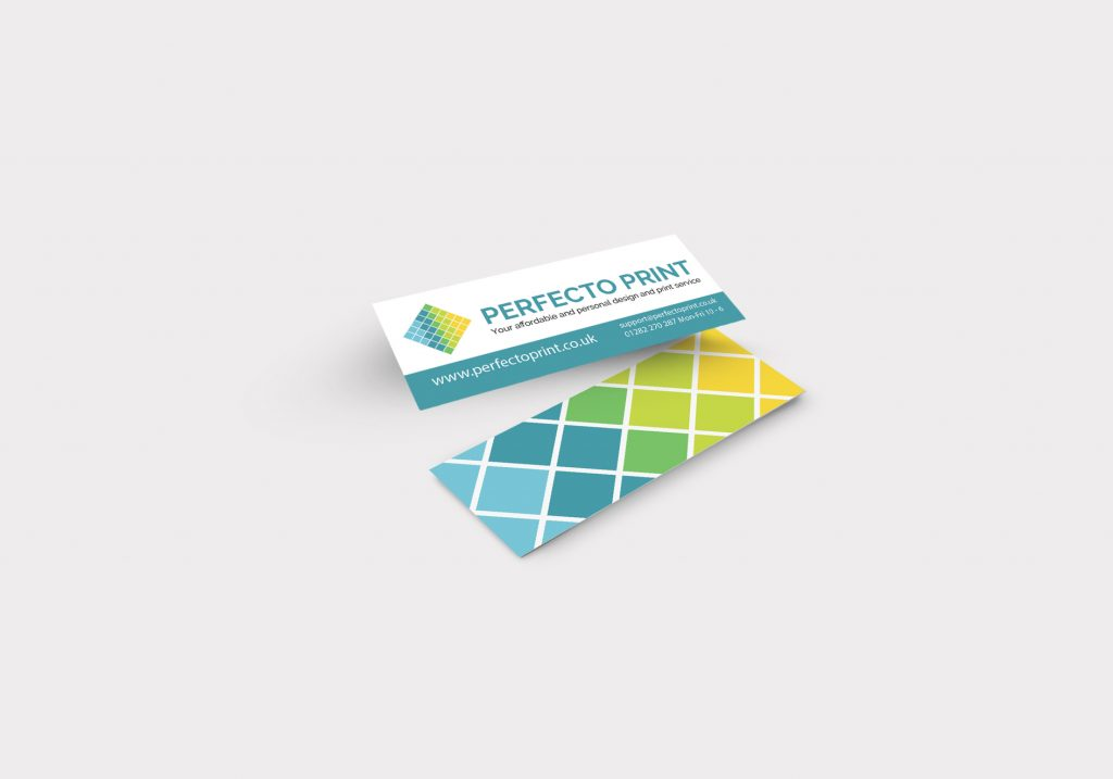Small Mini Business Cards | Free Delivery - PerfectoPrint.co.uk