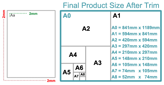 Fedex standard poster size