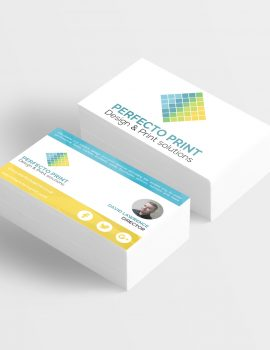 premium 1000 soft touch business cards - Perfecto Print UK